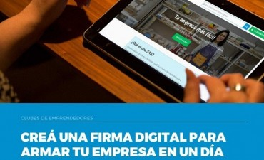 Club de emprendedores: Gestión de firma digital