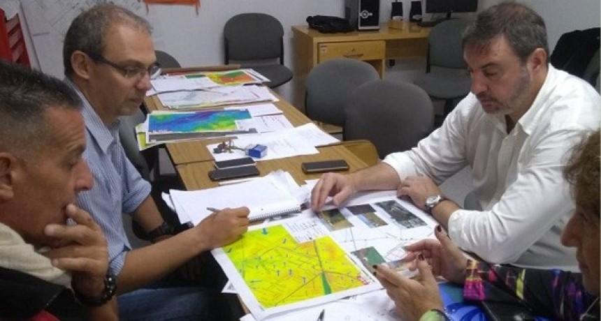 Luciani y una reunión para evaluar el Protocolo de Emergencias