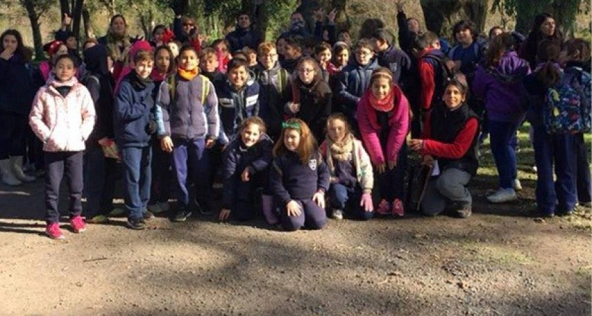 Alumnos de la Escuela Gutiérrez visitaron la Quinta Cigordia