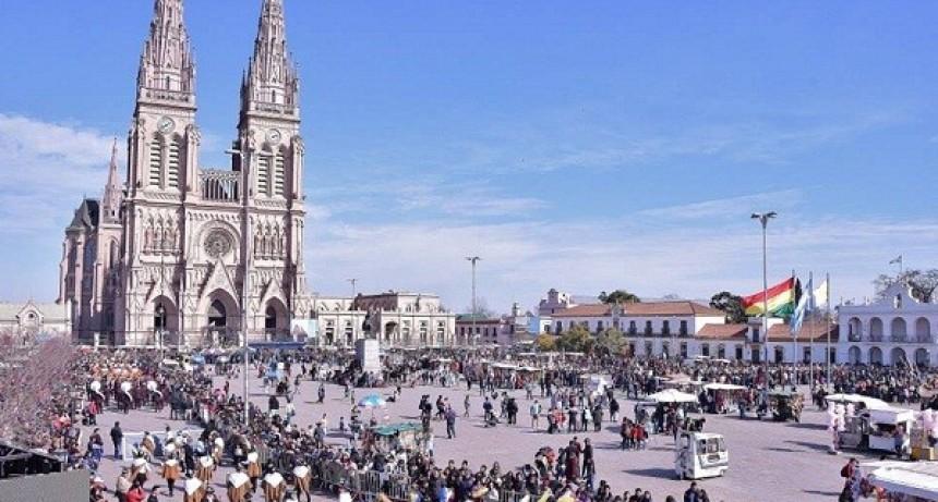 Luján albergó una nueva Peregrinación a la Virgen de Copacabana