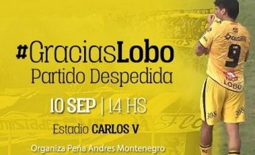 Andrés Montenegro palpita su partido despedida