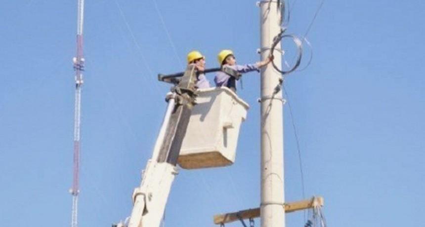 Corte de suministro eléctrico para este martes