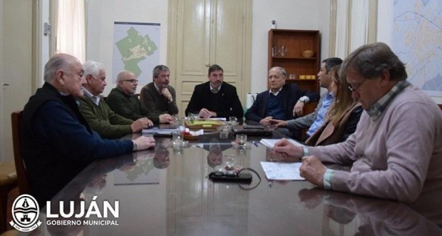 Luciani se reunió con autoridades de la Cooperativa Eléctrica