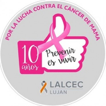 Agradecimiento de LALCEC Luján
