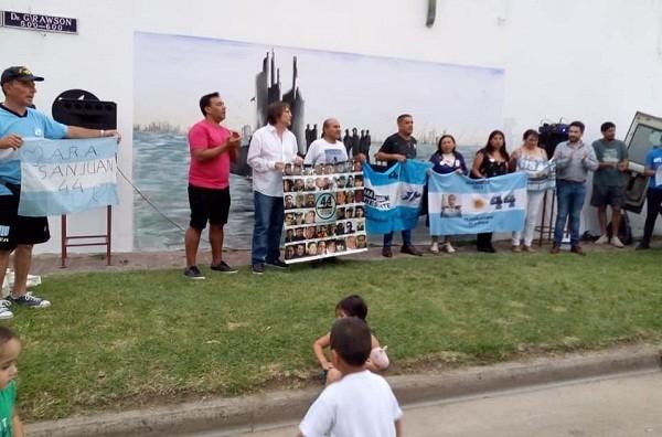 Luján ya tiene su mural en homenaje al ARA San Juan