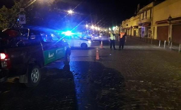 Controles de nocturnidad en Luján