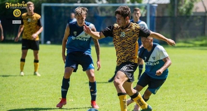 Flandria tuvo sus primeros amistosos ante Vélez