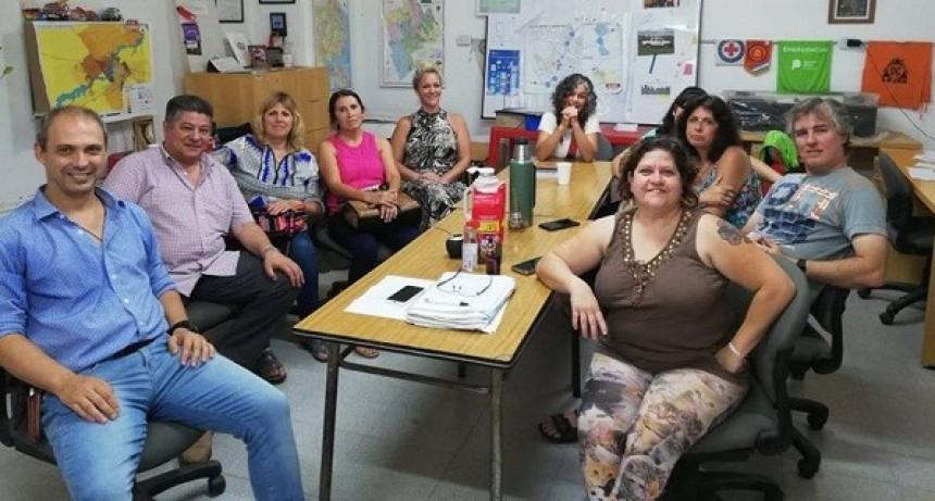Búsqueda de identidad: primera reunión con la Secretaría de Políticas Sociales