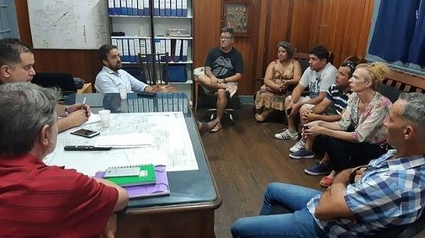 Lattaro se reunió con vecinos de los barrios San Bernardo y El Trébol