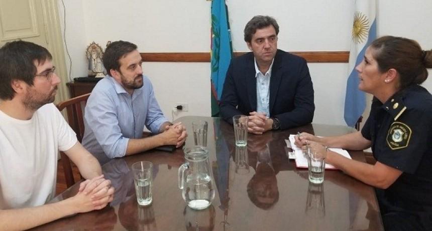 El intendente se reunió con la nueva jefa de la Policía Local