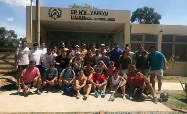 Integrantes del Luján Rugby Club participaron de una actividad social