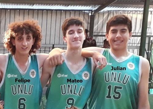Tres lujanenses fueron preseleccionados para el equipo de ABZC