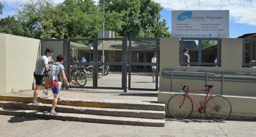 Instituto Mignone: comenzó el período de inscripción