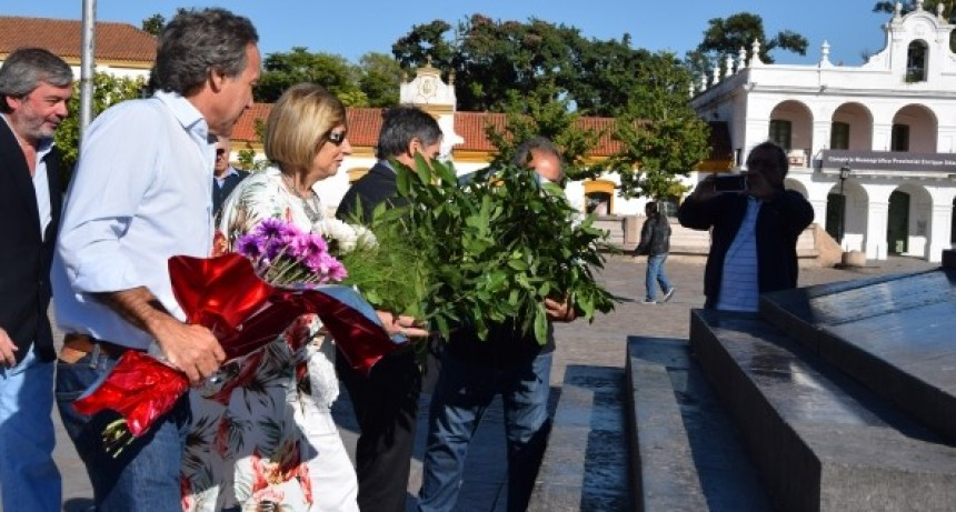 Luján celebró el Día de la creación de la Bandera
