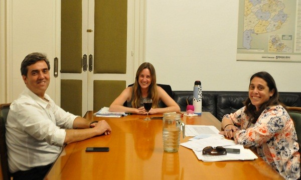 El intendente se reunió con la Directora de Educación de la Provincia