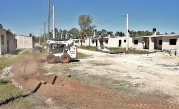 Construcción de viviendas sociales en Olivera
