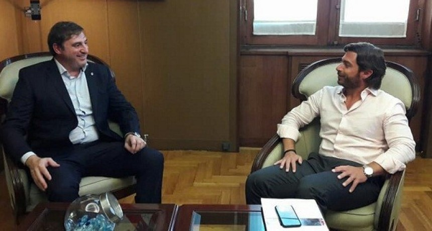 Luciani se reunió con el Jefe de Gabinetes de la Provincia