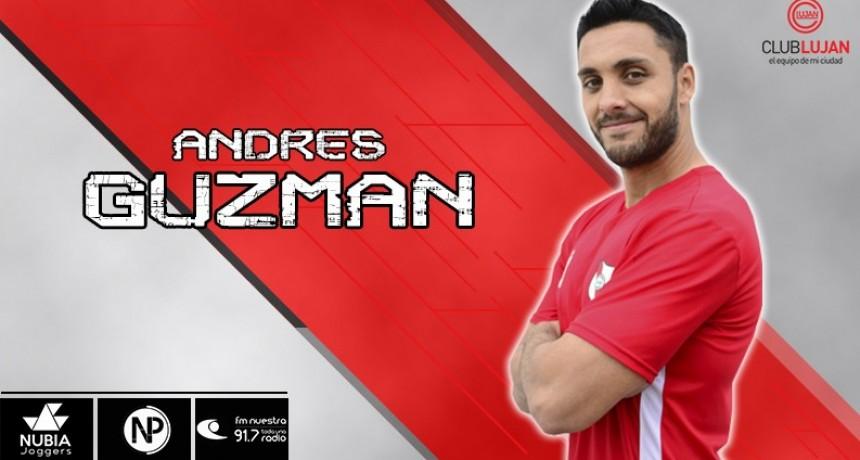 Andrés Guzmán no es más jugador de Luján