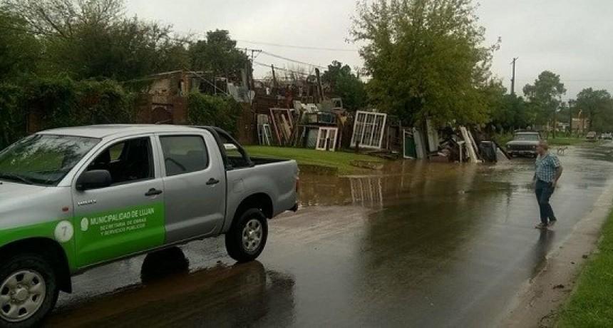 Actualización: El Municipio informó que hay 68 evacuados