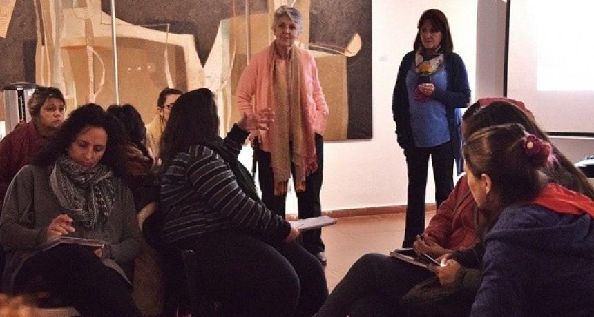 Tercer encuentro de capacitación sobre violencia contra la mujer