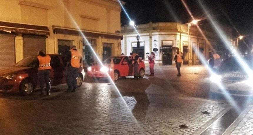 Vehículos secuestrados en otra noche de operativos