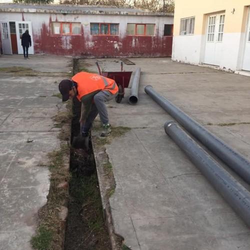 Continuan las obras en la ciudad.