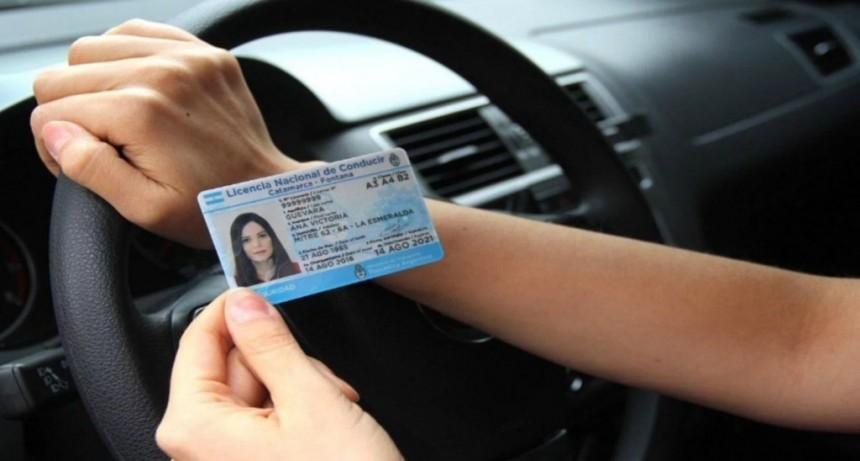 Coronavirus: se prorrogan por 150 días los vencimientos de las licencias de conducir