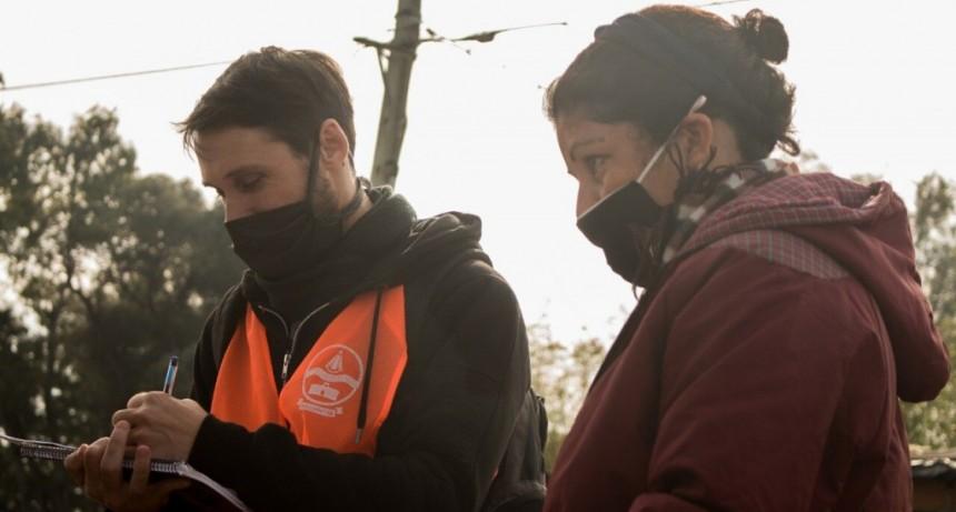 Coronavirus: se puso en marcha en Villa del Parque el Plan Detectar