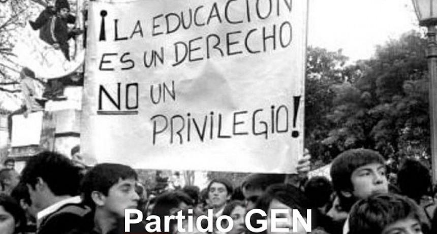 El GEN Luján rechaza los dichos de María Eugenia Vidal