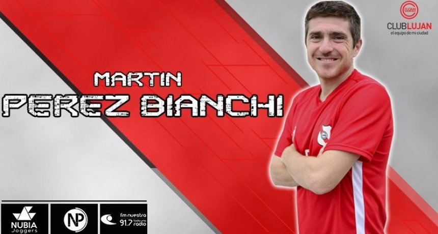 Martín Pérez Bianchi se retiró del fútbol profesional