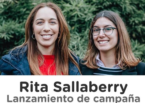Este viernes será el lanzamiento de campaña de Rita Sallaberry
