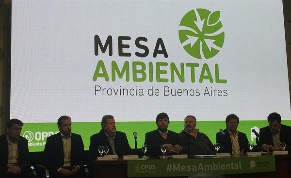 El Municipio de Luján, presente en la Mesa Ambiental de la Provincia