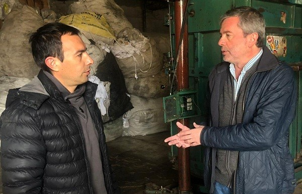 Fernando Casset visitó la Cooperativa