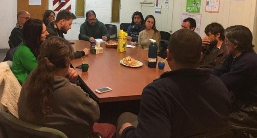 Reunión de asesoramiento a cooperativas del reciclado