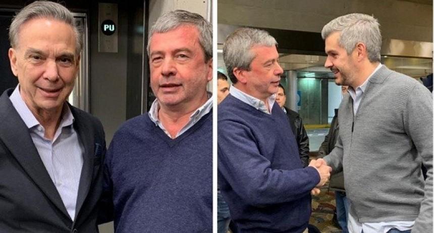 Fernando Casset estuvo junto a Marcos Peña y Miguel Ángel Picchetto