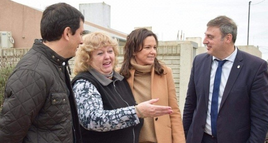 Carolina Stanley visitó Luján