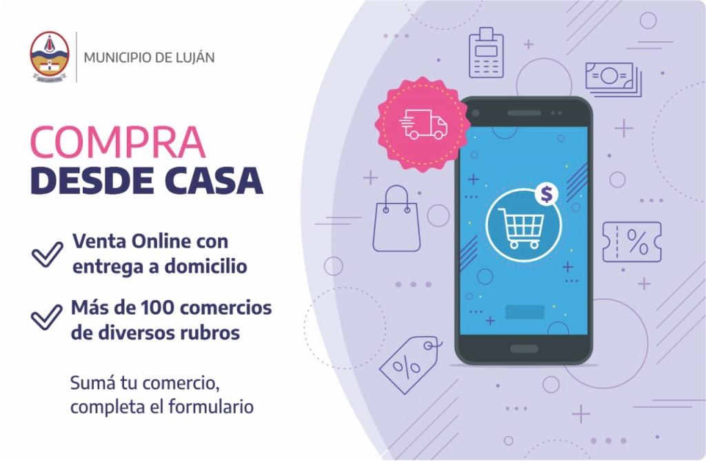 Comercios promueven la venta online con entrega a domicilio