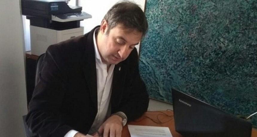 Firmaron convenio para instalación de red de agua potable en Olivera