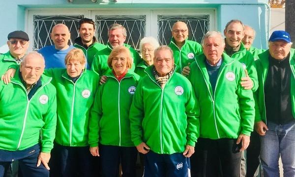 Juegos Bonaerenses: los adultos mayores partieron hacia Mar del Plata