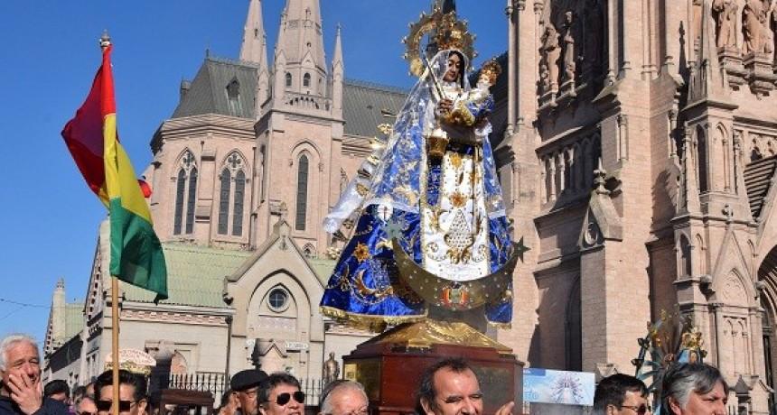 Luján albergó la 63º Peregrinación Boliviana