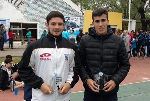 Mauricio Larroque, subcampeón argentino