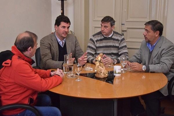 El secretario de Seguridad de la Nación visitó Luján