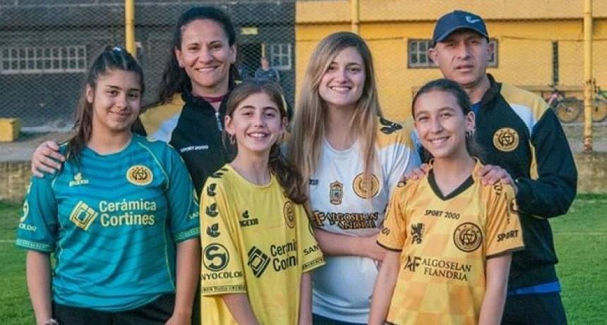 El fútbol femenino de Flandria ya es una realidad