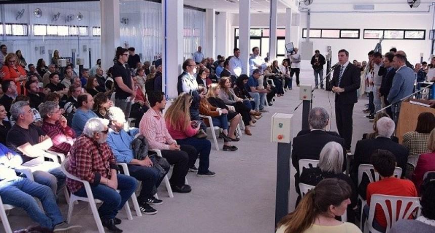 Inauguraron los nuevos talleres de la Escuela Industrial