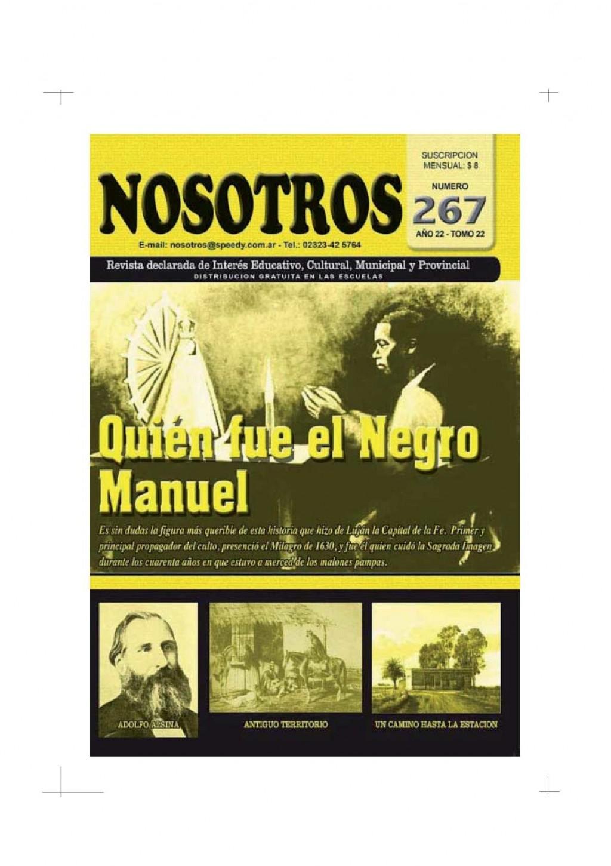 La revista Nosotros no publica desde marzo