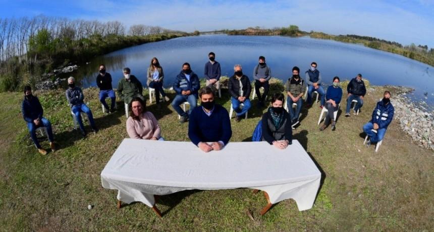Luján Limpio: El Intendente anunció un paso fundamental en la reconversión definitiva del basural y la ampliación de la gestión integral de residuos