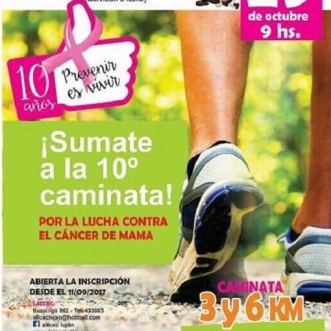 El domingo llega la 10º edición de la caminata