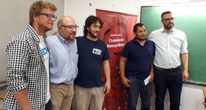 Fabio Quetglas visitó Luján y estuvo en FM Nuestra