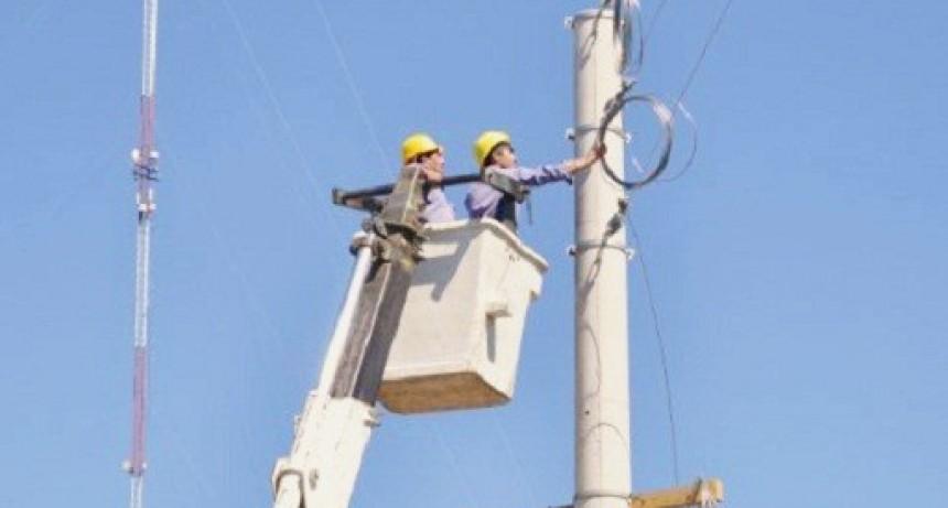 Corte de suministro eléctrico en Pueblo Nuevo