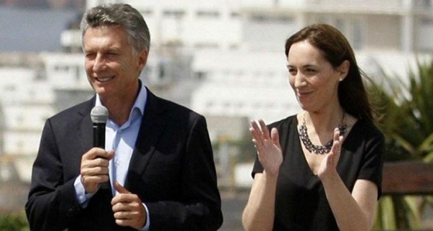 Mauricio Macri y María Eugenia Vidal, ganadores en Luján